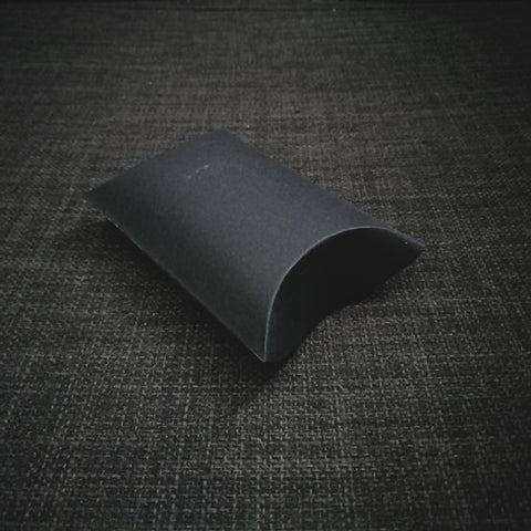 Pillow Small Black Matte Gift Packaging