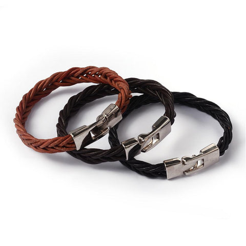 Braided Cord Bracelet - Bracelets - Rebel Road