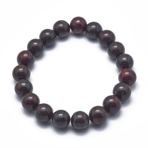 a Red brown Jasper stretch bracelet by Rebelroad.co.za