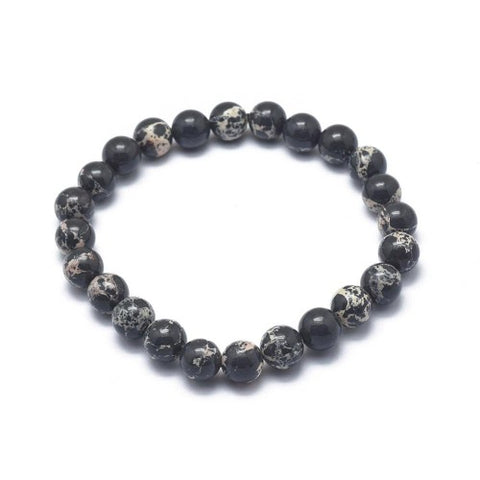 Regalite Bead Stretch Bracelet from rebelroad.co.za