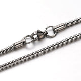 Snake Chain Stainless Steel Bracelet - Bracelets - Rebel Road