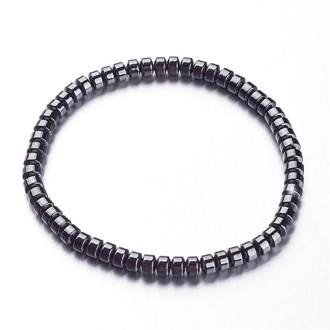 Synthetic Hematite Bracelet - Bracelets - Rebel Road