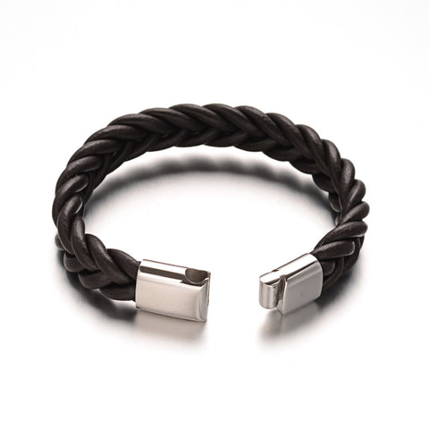 Thick Braided Cord Bracelet - Bracelets - Rebel Road
