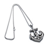 Lion Thor's Hammer Steel Necklace - Neckwear - Rebelroad.co.za