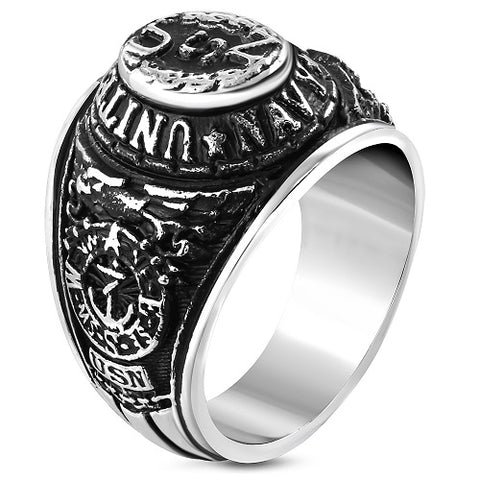 US Navy Biker Ring - Rings - Rebelroad.co.za