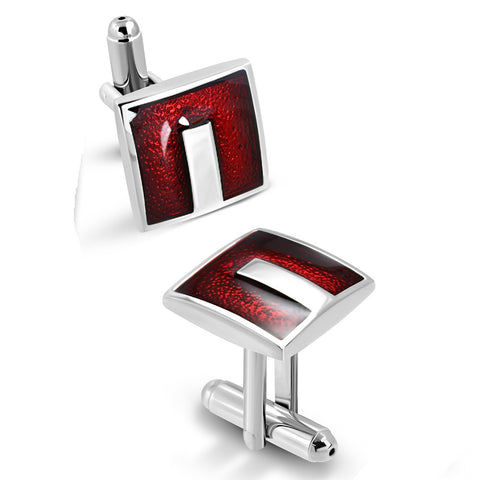 U Square Cufflinks - Cuff Links - Rebelroad.co.za