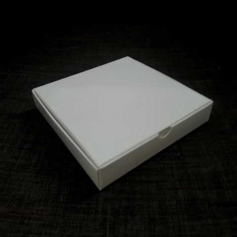 White Gloss Carton Medium Square Gift Box