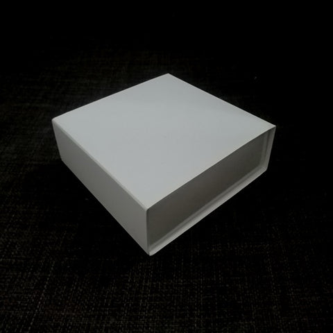 White Gloss Drawer Square Gift Box