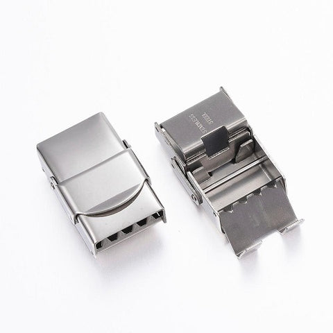 14*3mm Rectangular Watchband Stainless Clasp