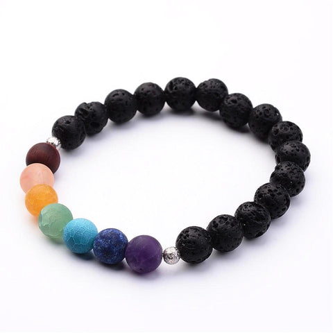 Lava Gemstone Bracelet - Bracelets - Rebelroad.co.za