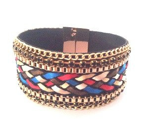 Colour Wide Chain Bracelet - Bracelets - Rebel Road