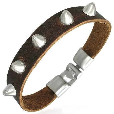 Cone Studded Bracelet - Bracelets - Rebel Road