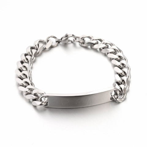 Curb Link Bracelet - Bracelets - Rebelroad.co.za
