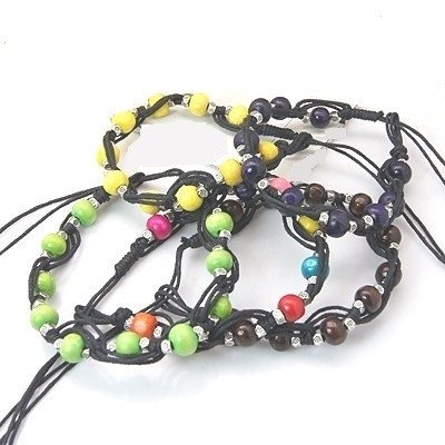 Fashion Wood Bead Bracelets - Bracelets - Rebel Road