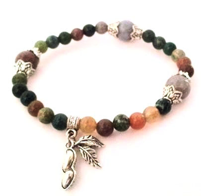 Gemstone Charm Bracelet - Bracelets - Rebel Road