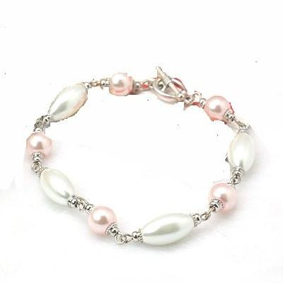 Glass Pearl Bracelet - Bracelets - Rebel Road