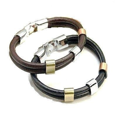 Hot Leather Tube Bracelet - Bracelets - Rebel Road