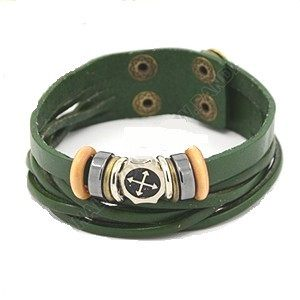 Multi Strand Leather Cord Bracelet - Rebelroad.co.za