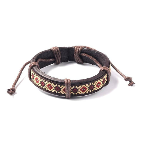 Ndebele Flower Bracelet - Bracelets - Rebelroad.co.za