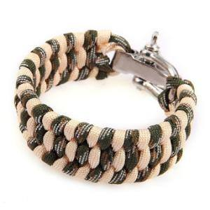 Paracord Bracelet-Camo - Bracelets - Rebelroad.co.za