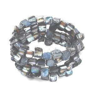 Shell Bead Cuff Bracelet - Bracelets - Rebel Road