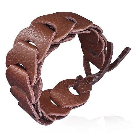 Tie Me Leather Bracelet - Bracelets - Rebel Road