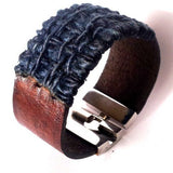 Wide Woven Bracelet - Bracelets - Rebel Road