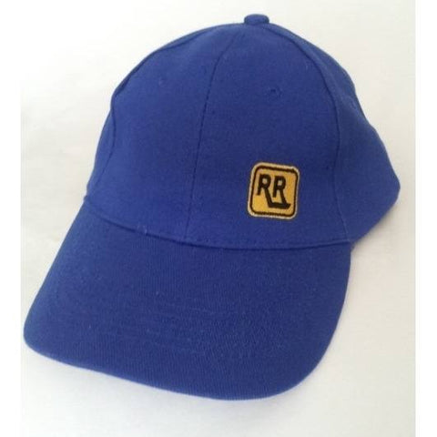Blue Brushed Cotton INSIGNIA Cap - Rebelroad.co.za