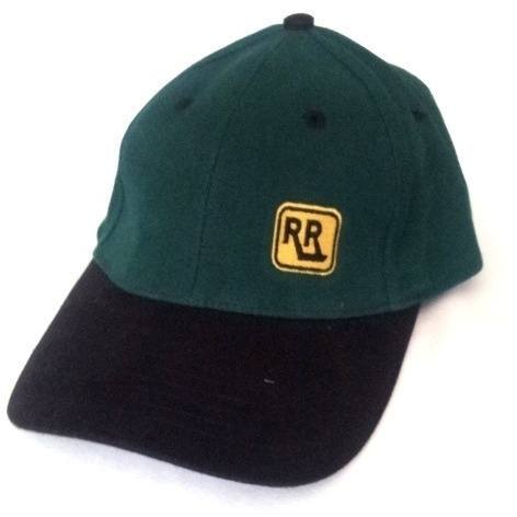 Green & Black Brushed Cotton INSIGNIA Cap - Caps - Rebel Road