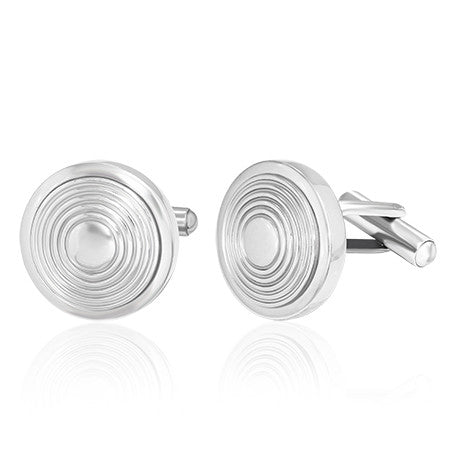 Bullseye Concentric Circle Cufflinks - Cuff Links - Rebel Road
