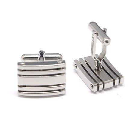 Pinstripe Cuff Links - Rebelroad.co.za