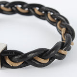 Two Tone Braided Cord Bracelet - Bracelets - Rebelroad.co.za