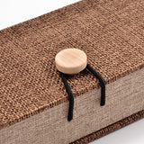Burlap Gift Wood Box - Gift Packaging - Rebel Road