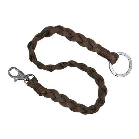 Braided PVC Leather Key Chain - Key Chains - Rebel Road