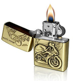 Motorcycle Sport Refillable Flip Top Lighter - Lighters - Rebel Road