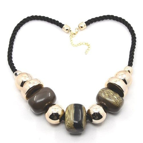 Bead Necklace C621 - Rebelroad.co.za - 1