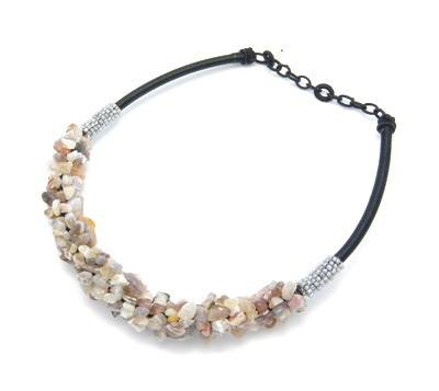 Botswana Agate Necklace - Rebelroad.co.za - 1