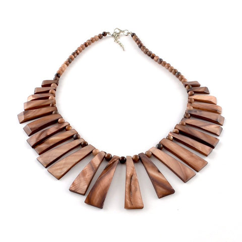 Sienna Shell Necklace - Rebelroad.co.za - 1