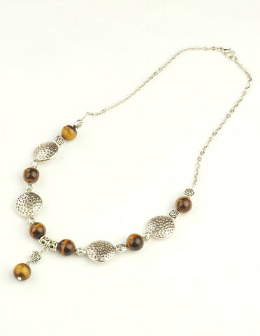 Tiger Eye Necklace - Rebelroad.co.za