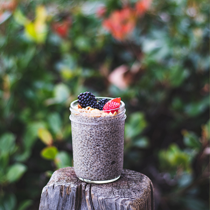 Superfood-infused Chia Pudding