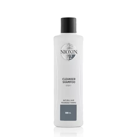 Nioxin Cleanser Shampoo System 2 for Natural Hair with Progressed Thinning