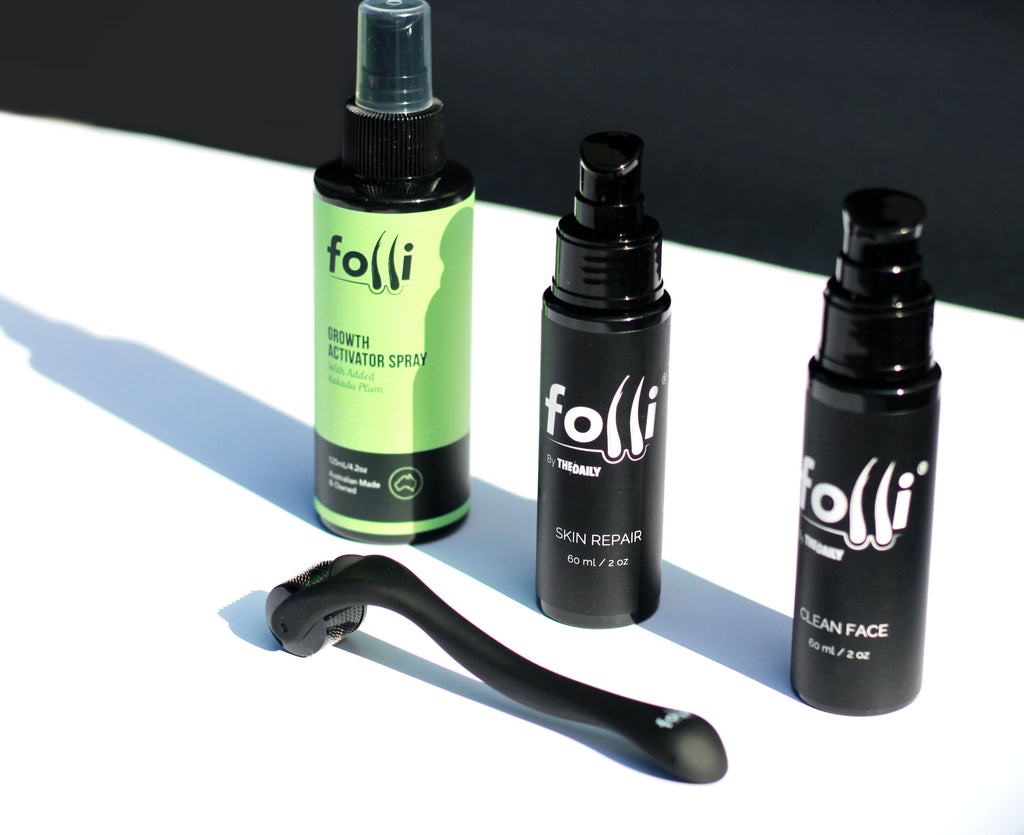 Folli x The Daily Skincare Bundle Pack