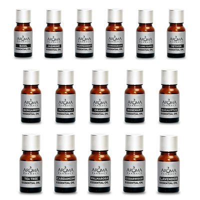 Set of 16 essential Oils Essential Oil 100% Pure & Natural - Aroma Farmacy