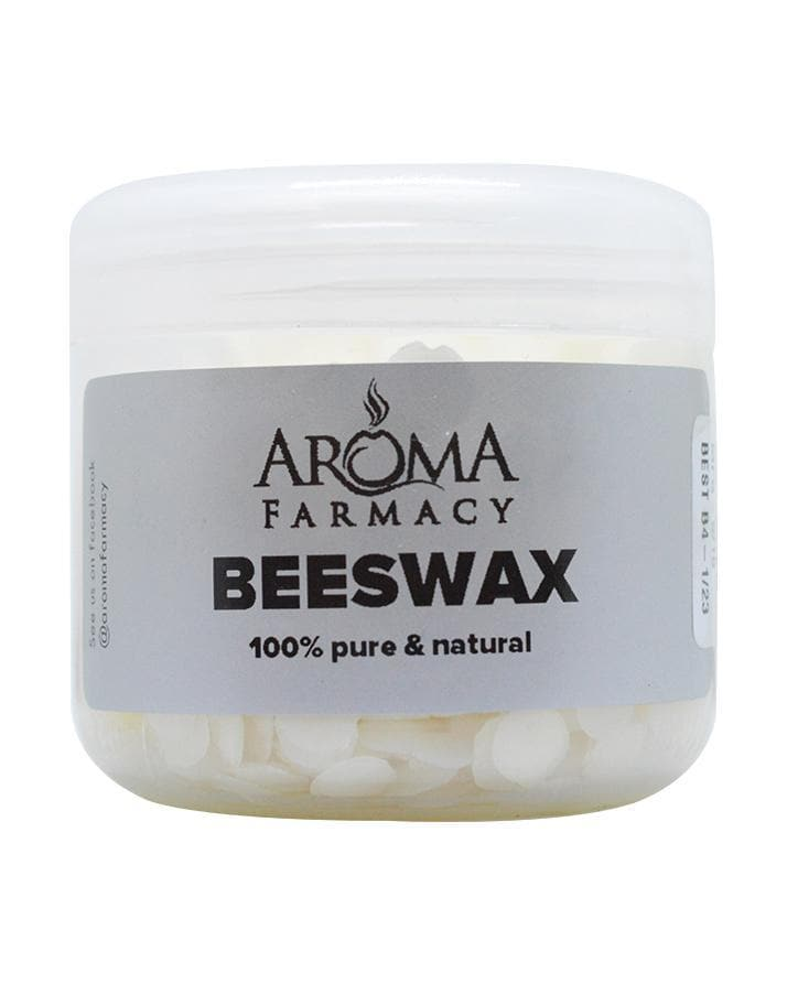 Pure White Beeswax Pellets German - Cosmetic Grade - Aroma Farmacy