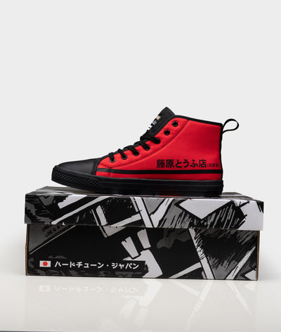 HTXJPN Fuji2 Red Panda High Top Sneakers