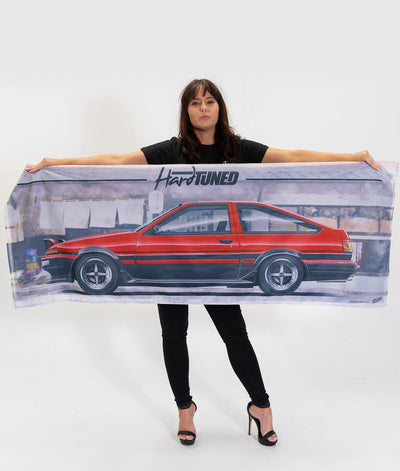 Toyota AE86 Workshop Flag