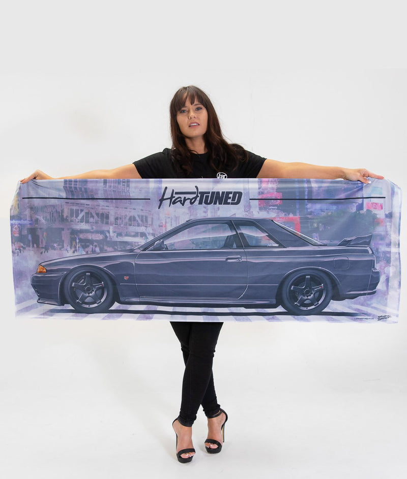 Nissan Skyline R32 GTR  Workshop Flag