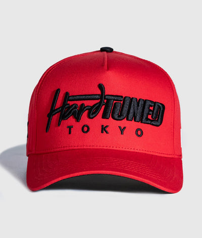 Hardtuned Tokyo Red A-Frame Cap