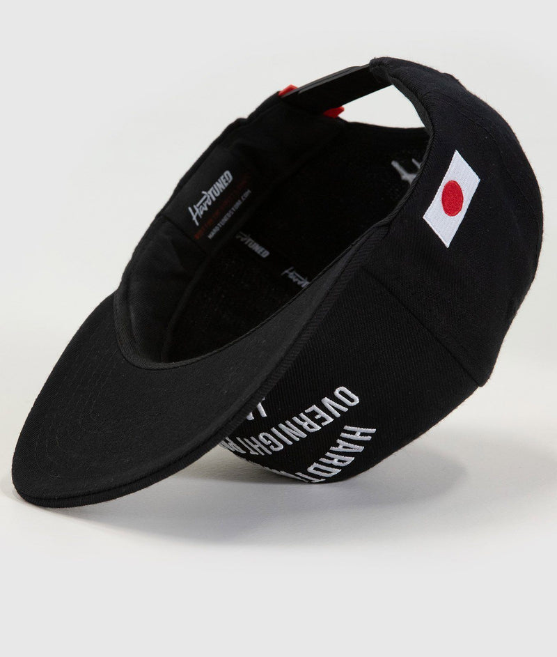 Hardtuned Overnight Parts Black Flat Brim Cap