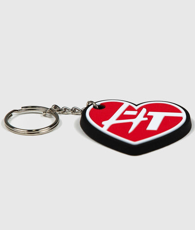 HardTuned Heart Rubber Key Ring